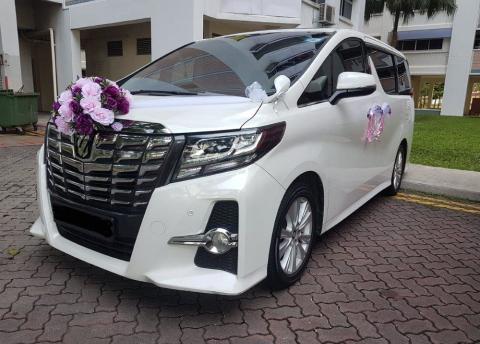 Sewa Mobil Pengantin di Bogor - Alphard